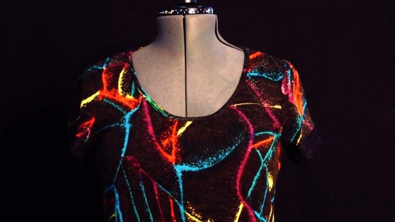 Customizar un vestido con un encaje