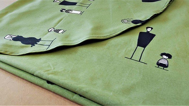 Manteles de mesa redondo y rectangular